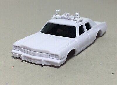 Auto World 1974 Dodge Monaco Police Car Unpainted Body, Fits X-Traction & AFX