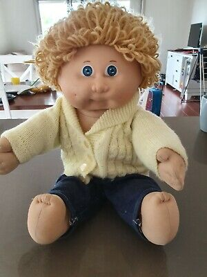 Vintage Cabbage Patch Kid Doll (Boy)