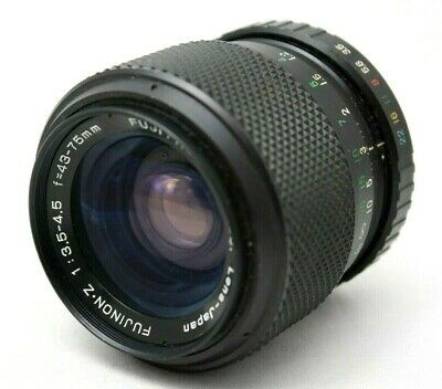 Fuji EBC Fujinon-Z 1:3.5-4.5 43-75mm Lens For M42 *As Is* #is005f