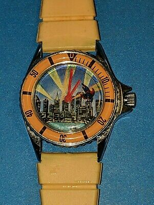 Rare ! SUPERMAN OUT OF TIME 1971 DC Comics Hero Sport Watch