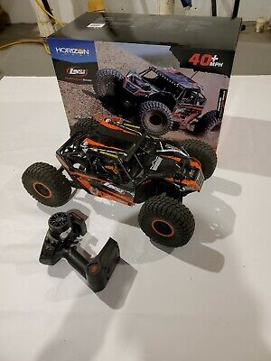 Losi 1/10 Rock Rey 4WD Brushless RTR with AVC, Orange