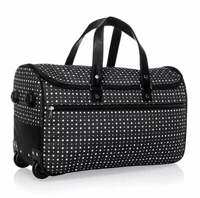 Thirty One Wheels-Up Roller- Roller Only Ditty Dot Bag Duffel Tote 31