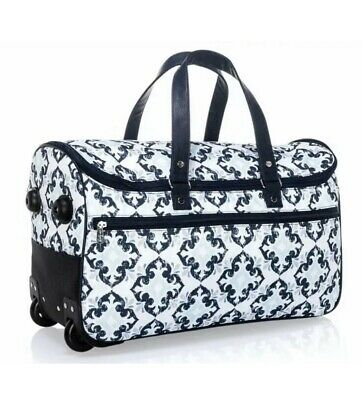 Thirty One Wheels-Up Roller- Roller Only Fab Flourish Bag Duffel Tote 31
