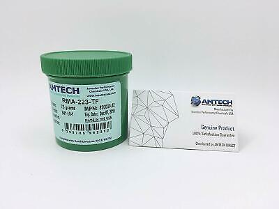 AMTECH RMA-223-TF No-clean Tacky Solder Flux (ROL0) 75g Jar