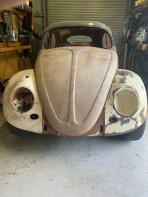 VW 1956 oval Beetle 1600 tp 68 pan.