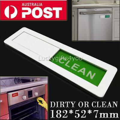 Clean Dirty Dishwasher Magnet Indicator Sign Non Scratch Magnetic Backing AU
