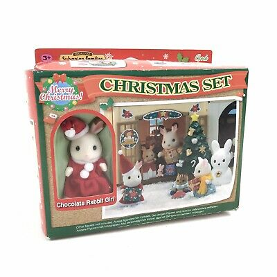 Sylvanian Families Christmas Set #2225  New In The Box