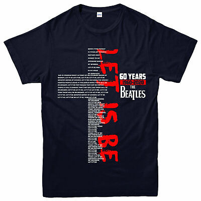 The Beatles Rock Band T-shirt, 1960 2020 The Beatles Jesus Gift Top