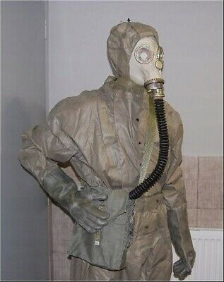 Real Polish Military Full Gas Mask Filter Emergency Survival nuclear protection