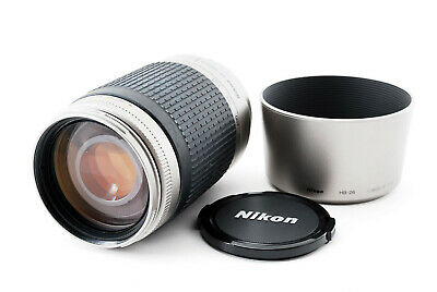 【EXC+++++】Nikon Zoom-NIKKOR AF 70-300mm f/4-5.6 G Lens w/ Hood From Japan 191128