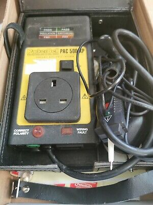 Parker Bell PAC 500 XP PAT Tester Package
