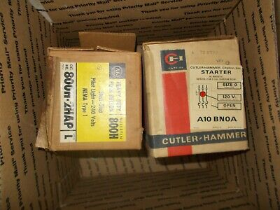 Cutler-Hammer Citation Line StarterAC Magnetic Eutectic,2or3 Coil,Overload Relay