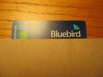 American Express Card Bluebird