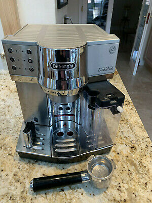 De'Longhi EC850.M Espresso/LatteCappuccino with Simple Touch Milk Carafe/Frother