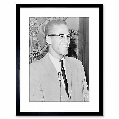 X416 Hot Malcolm X With Gun Movie Fabric Poster Art 40 24x36
