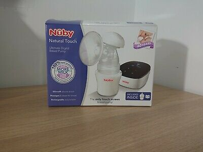 NUBY NATURAL TOUCH ULTIMATE DIGITAL ELECTRIC BREAST PUMP *touch screen*