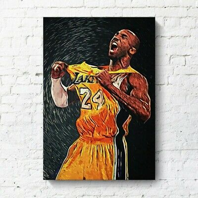 "LA Lakers - Kobe Bryant - NBA Poster 24"" x 32"""