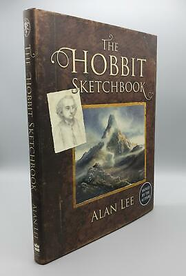 The Hobbit Sketchbook, by Alan Lee (SIGNED First Edition / 1st Printing)