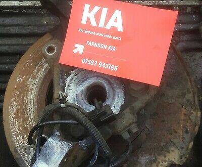 Kia Sedona Mk3 2.9 Diesel Right Driver Offside Front Hub With Abs 2006-2013