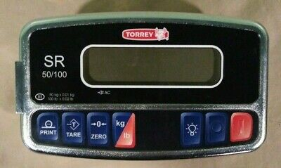 Torrey SR-50/100 Shipping Receiving Scale DISPLAY ONLY