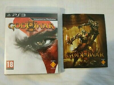 Jeu God of War 3 III pour console Sony Playstation 3 PS3