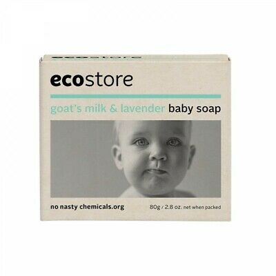 Ecostore Baby Soap Goats Milk And Lavender Sensitive Hypoallergenic Cruelty Free