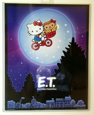 "Universal Studios Exclusive x Hello Kitty Jurassic Park Poster 14"" X 11"" NEW"