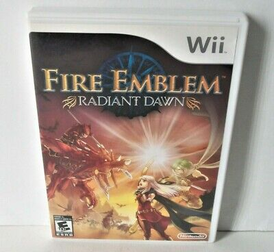 Fire Emblem Radiant Dawn Case Only NO GAME Nintendo Wii Empty Cover Art Artwork
