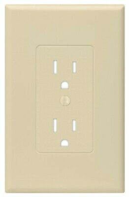 IVY 1G Deco Wall Plate, PartNo 2500I, by Raco Incorporated, Single Unit