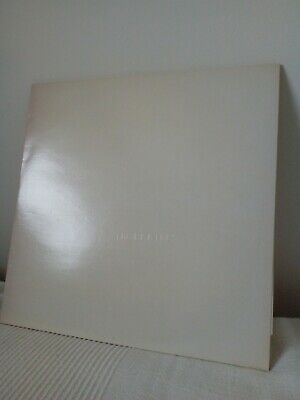 the beatles white album vinyl record stereo in great condition.