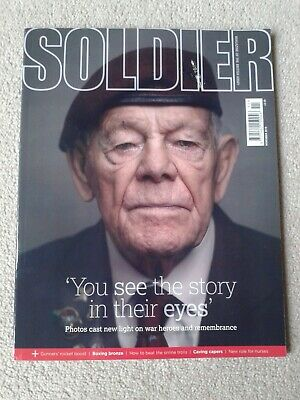 Soldier Magazine  November 2019 Read once on the train