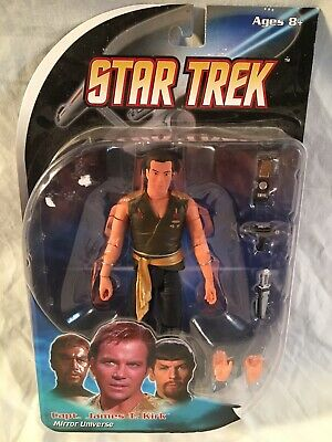 "Star Trek Collection - Diamond Select 7"" series - Classic Mirror Universe Kirk"