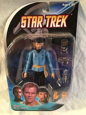 "Star Trek Collection - Diamond Select 7"" series - Classic Mirror Universe Spock"