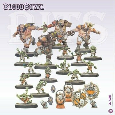 Blood Bowl Ogre Blood Bowl Team The Fire Mountain Gut Busters Gw 2019