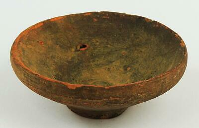 Pre Colombian / Indus Pottery Terracotta Greyware Small Bowl