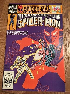 Marvel Comic Peter Parker The Spectacular Spider-man 61 1981