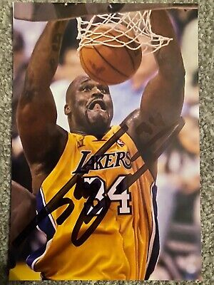 Shaquille O'neal Signed Autograph