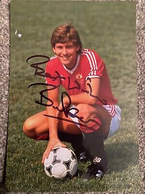 Bryan Robson Signed Autograph