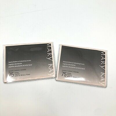Mary Kay Beauty Blotters Oil-Absorbing Tissues - LOT OF 2!