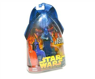 Star Wars ROTS ROYAL GUARD Action Figure Never Opened Revenge of the Sith Blue