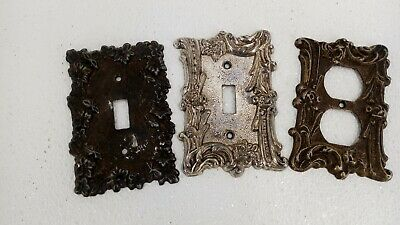 Lot Of Vintage Switchplates And Outlet Cover