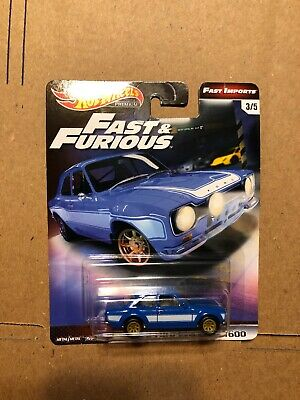 2019 Hot Wheels Premium Fast & Furious Fast Imports 3/5 1970 Ford Escort RS 1600
