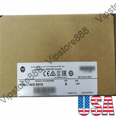 SEALED Allen Bradley 1769-L16ER-BB1B CompactLogix 384KB Processor QTY USA FDA
