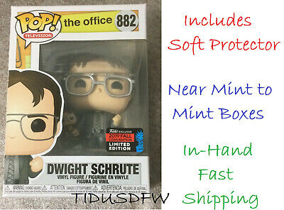 Funko Pop Office Dwight Schrute with Bobble Head NYCC 2019 Shared Exclusive MINT