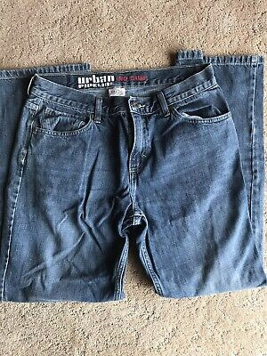Mens Boys Jeans Urban Pipeline Size 30/30 Loose Straight