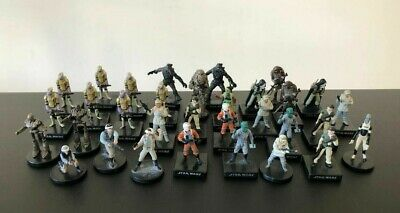 Star Wars Miniatures RPG Legion Wizards Of The Coast Rebel Fighters