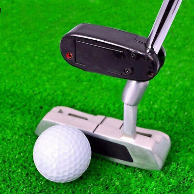 Golf Putter Trainers Training Aim Line Corrector Improve Aid Tool Laser Pointer