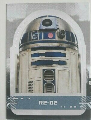 Character Die Cut Stickers. Cs-7 R2-D2. Star Wars: The Rise Of Skywalker