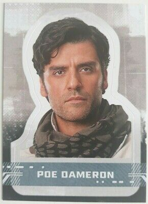 Character Die Cut Stickers. Cs-3 Poe Dameron. Star Wars: The Rise Of Skywalker