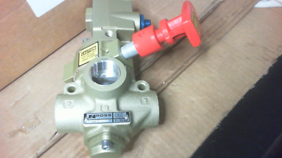 Ross D2773A5804 Pneumatic Quick Exhaust Lockout Valve - New in Box